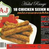 Chicken Seekh Kebab - 630g