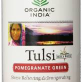 Organic India Tulsi Pomegranate Green Tea 100g