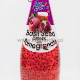 Basil Seed Drink with Pomegranate - 300ml