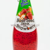 Basil Seed Drink with Strawberry - 300ml