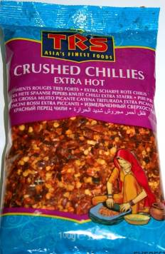 Chillies Crushed TRS,100g