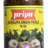 Gongura Onion Pickle ( With Garlic ) 300G