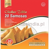 Samosa Chicken Tikka 20pcs. Crown Frozen Foods