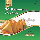Samosa Vegetable 20pcs. Crown Frozen Foods