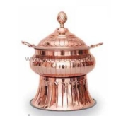 Round chafing dish royal -copper LC-148