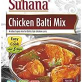 Chicken Balti Mix 50G Suhana
