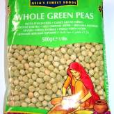 whole green peas 500g