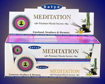 Meditation Premium Masala Incense 15g