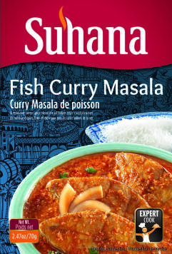 Fish Curry Masala 100G Suhana