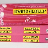 Mangaldeep Rose Incense Sticks  (15 szt)