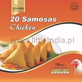 Samosa Chicken 20pcs. Crown Frozen Foods