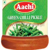 Green Chilli Pickle 300G Aachi