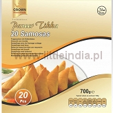 Samosa Paneer 20pcs. Crown Frozen Foods